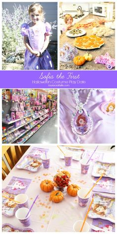 Sofia the First Halloween Costume Party Play Date #JuniorCelebrates #CollectiveBias #shop