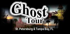 Ghost Tours of St Petersburg and Tampa Bay (Florida).  My Husband loves history and ghost tours!  We have to find one every time we take a trip somewhere!