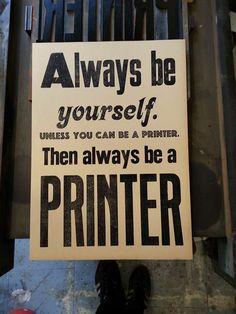 Jejeje Great!! #letterpress #PRINTER #design #poster #printbroker #imprenta #tipos #print  www.printbroker.co PrintBroker&Co.