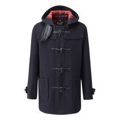 Mens | Mid Length Duffle Coat CT | Gloverall | Gloverall