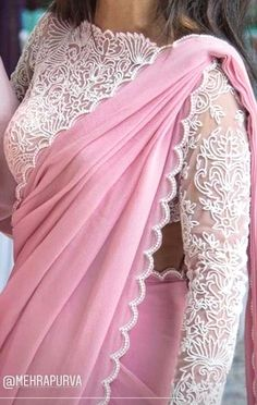 White blouse so good Elegant Indian Saris Click VISIT link for more info