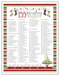 400 stocking stuffer ideas for adults apple cider curling and stocking stuffers - Stocking Stuffer Idea