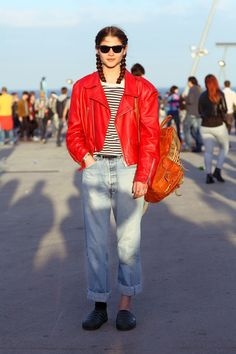 Plaits And Tatts: We're Into Vogue Espana Alba Galocha's Continental Style