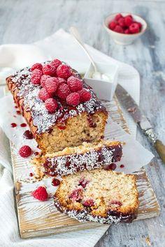 Raspberry and Coconut Cake | The Kitchen Alchemist