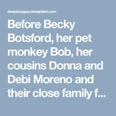 "Before Becky Botsford, her pet monkey Bob, her cousins Donna and Debi Moreno and their close family friend Gabrielle Squirrel could begin the show for Tobey McAllister's III birthday, Mister Freeze and his two henchmen and Beatrice Bixby alias Lady Redundant Woman got off their chairs that were located in the back of the building.<br /><br />Mister Freeze then says in a loud voice with his freeze gun pointed at the guests of honor ""If you value your lives, I will politely ask you to hand…"