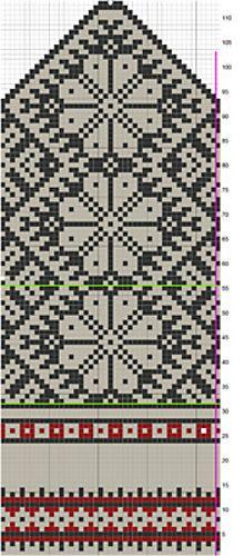 Ravelry: Estonian Stranded Motif pattern by #define design