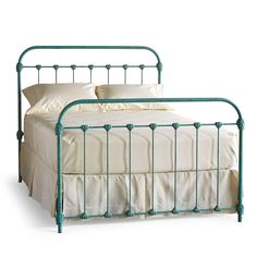 Sundance Catalog Color idea for wrought iron bed frames