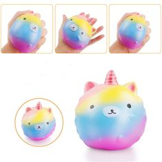 $0.99 - Jumbo Unicorn Slow Rising Squishies Scented Charms Kawaii Squishy Squeeze Toy Bp #ebay #Electronics