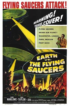 Earth vs. The Flying Saucers.....1956
