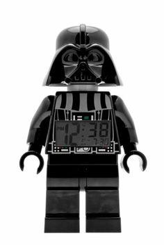 LEGO Kids' 9002113 Star Wars Darth Vader Mini-Figure Alarm Clock: Watches: Amazon.com