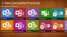 iMath. Výuková aplikace pro matematiku určená dětem do dvanácti let. Mnoho příkladů a aktivit.