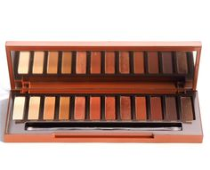 Urban Decay Naked Heat Swatches / British Beauty Blogger
