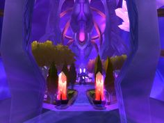 the final stretch in the Botanica, a group of dungeons in Netherstorm, Outlands