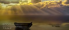 Rays of gold by toreeideh #landscape #travel