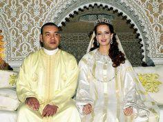2002. Rey Mohammed VI de Marruecos y Salma Bennani