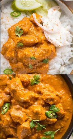 Crock Pot Curry, Curry Crockpot, Coconut Chicken Recipes, Slow Cook Chicken Recipes, Recipes With Coconut Milk, Best Chicken Curry Recipe, Coconut Chicken Tenders, Butter Chicken, Korean Recipes