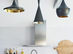 Pendant Light Collection. Yay or Nay? Emily Henderson, featured in #hgtvmagazine #pinwithmeg
