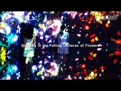 Crystals and Flowers Explode in New Infinity Room on Tokyo's Artificial Island | The Creators Project