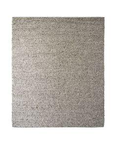 Serena & Lily Braided Wool Heathered Grey Area Rug | Domino