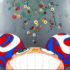 TAKASHI MURAKAMI http://www.widewalls.ch/artist/takashi-murakami/ #contemporary #art #superflat