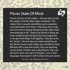 Pisces: State of mind