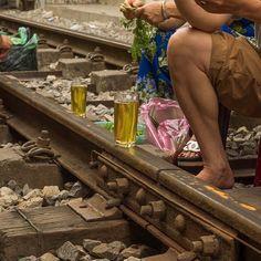 Life on the tracks; Hanoi.  #instagood #fun #railway #hanoi #vietnam #visitvietnam #people #instagram #photography #travel #twitter #travelling #olympus #olympus_au #olympusinspired #getolympus #wow #explore #discover #asia