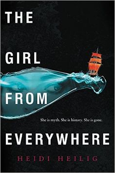 "Nerdist review of ""The Girl From Everywhere,"" plot of book is that a 16 year old girl is traveling on the ocean through time with her father - whose quest is to prevent his wife's death in childbirth (which would cause her to not exist)."