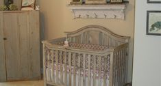 10 rustic nursery ideas that are perfect for your little one's room Rustic Room, Rustic Nursery, Woodland Nursery Decor, Nursery Wall Decor, Nursery Room, Child's Room, Room Decor, Baby Nursery Closet, Baby Nursery Themes