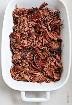 So full of flavor, this Balsamic Roast Beef Recipe is one of my favorite slow cooker recipes! I love to make an extra for leftovers because this is so DELICIOUS!  //addapinch.com