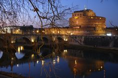 Castel D'Angelo in Rome - used to be a fortress for the Pope