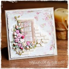 Hi everyone!!! Today I would like to share with you my new romantic mixed media card which I made for Love to Craft & Create ... ...