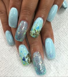 Under The Sea by Pinky from Nail Art Gallery