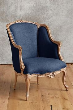 Pamina Chair - anthropologie.com #anthrofave Armchair, Accent Chairs, Furniture, Home Decor, Womb Chair, Upholstered Chairs, Homemade Home Decor, Home Furniture, Interior Design