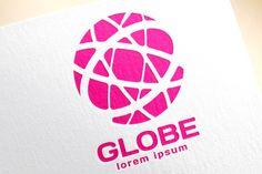 Globe logo. Globe icon. Globe vector by Vector-Stock creativework247