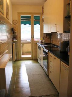 How a kitchen looks like in Lecco