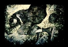 浅田弘幸「lyrical murderer」中原中也記念館の館報にイラストと文章を寄稿