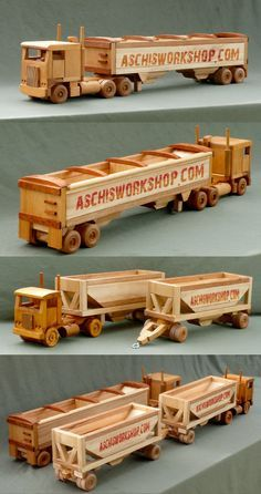 Teds Woodworking® - Woodworking Plans & Projects With Videos - Custom Carpentry — TedsWoodworking - Ahşap Oyuncaklar - Truck Toys Plans - Woodworking Toys, Learn Woodworking, Woodworking School, Woodworking Projects Plans, Woodworking Skills, Woodworking Techniques, Woodworking Courses, Woodworking Organization, Woodworking Quotes
