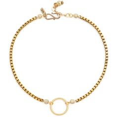 Vanessa Mooney The Bonet Choker Necklace ($30) ❤ liked on Polyvore featuring jewelry, necklaces, gold, choker jewellery, clasp necklace, choker jewelry, vanessa mooney necklace and adjustable necklace