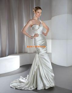 Cola Capilla Tafetán Brillante Vestidos de novias 2013