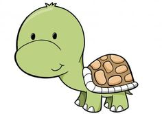 Cute Cartoon Turtles | Cute Baby Turtle - 2 : Custom Wall Decals, Wall Decal Art, and Wall ...
