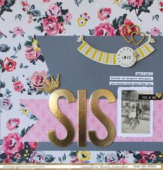 SIS by @maryannjenkins for the @paperissuesteam - maryannjenkins.com