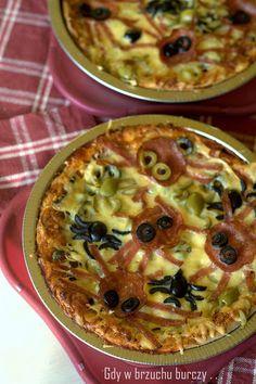 Gdy w brzuchu burczy... : Pizza z pająkami