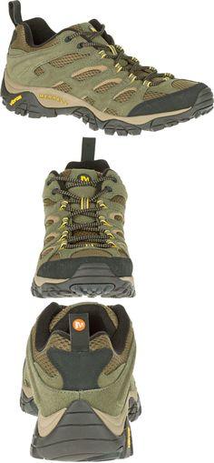 577b75a486 Mens 181392: Merrell Moab Ventilator Olive Hiking Shoes Men Vibram -> BUY  IT NOW ONLY: $69 on eBay!