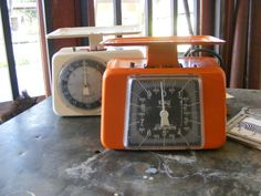 Kitchen scales - with character.