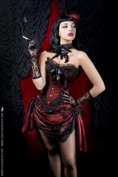 Burlesque type dress