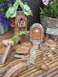 Miniature Garden World Miniature Village Fairy Garden Miniature World NEW