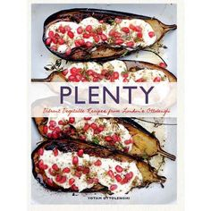plenty by Yotam Ottolenghi; a vegetarian cookbook that has lots of bold, meaty flavors.