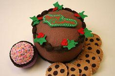 Yummy Felt Cake! | Merry Christmas! | erika | Flickr
