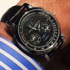 Lange Datograph QP Tourbillon - wrist
