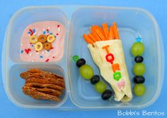 Olympic Games Bento Meal from Bobbi's Bentos